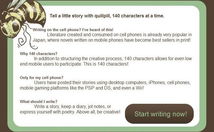 El microblogging de los escritores