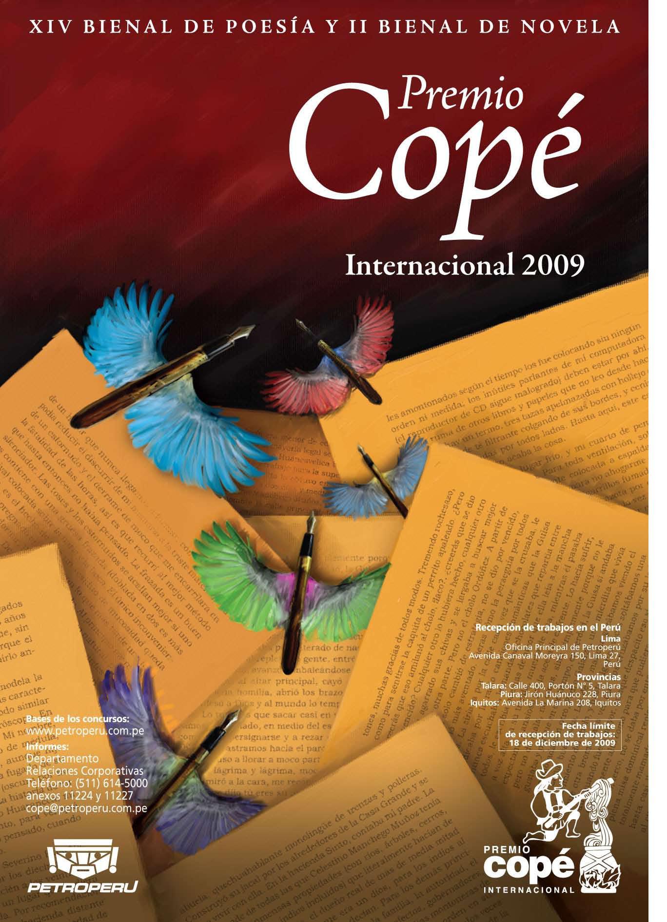 PREMIO COPÉ INTERNACIONAL 2009